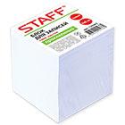 Блок для записей 80х80 мм белый проклеенный Staff 1000 листов